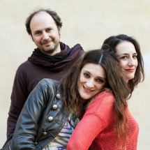 With Monica Germino e Andrea Rebaudengo